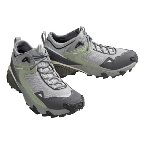 Vasque Multisport Shoes - Borneo (For Women) in Light Grey / Dark Grey/ Sage