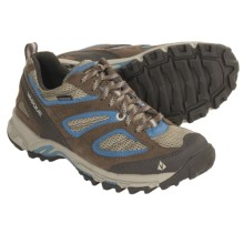 Vasque Opportunist Low Trail Shoes - Waterproof (For Women) in Bungee Cord/Niagra - Closeouts