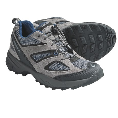 Vasque Opportunist Trail Shoes (For Kids and Youth) in Griffin/Dark Blue