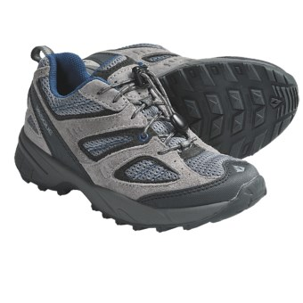 Vasque Opportunist Trail Shoes (For Kids and Youth) in Neutral Grey/Blue