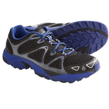 Vasque Pendulum Trail Running Shoes (For Men) in Jet Black/Sodalite Blue - Closeouts