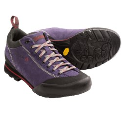 Vasque Rift Approach Shoes - Suede (For Women) in Slate Brown/Scuba Blue
