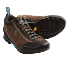 Vasque Rift Approach Shoes - Suede (For Women) in Slate Brown/Scuba Blue - Closeouts