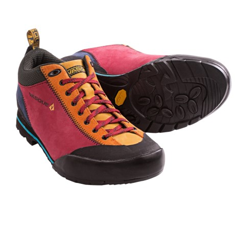 Vasque Rift Approach Trail Shoes (For Men) in Chili Pepper/Orange