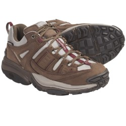 Vasque Scree Low UltraDry Trail Shoes - Waterproof (For Women) in Chocolate Chip/Port Royal
