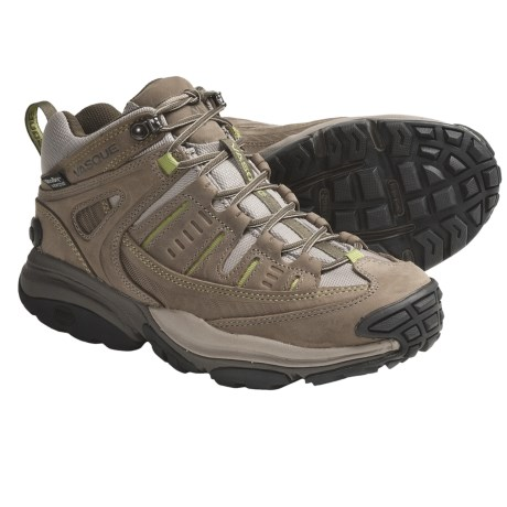 Vasque Scree Mid Hiking Boots - Waterproof (For Women) in Brindle/Green