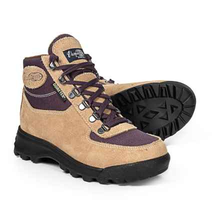 Vasque Skywalk Gore-Tex® Hiking Boots - Waterproof (For Women) in Desert Sand/Plum Perfect - Closeouts