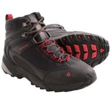 Vasque Snow Junkie Snow Boots - Waterproof, Insulated (For Men) in Jet Black/Chili Pepper - Closeouts
