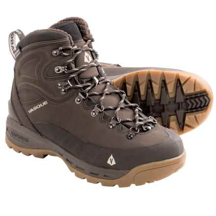 Vasque Snowblime Snow Boots - Waterproof, Insulated (For Men) in Turkish Coffee/Bone White - Closeouts