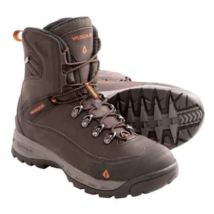 Vasque Snowburban Snow Boots - Waterproof, Insulated (For Men) in Beluga/Old Gold - Closeouts