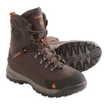 Vasque Snowburban Snow Boots - Waterproof, Insulated (For Men) in Turkish Coffee/Russet Orange - Closeouts