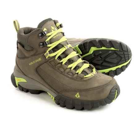 Vasque Talus Trek UltraDry Hiking Boots - Waterproof (For Women) in Bungee Cord/Green - Closeouts