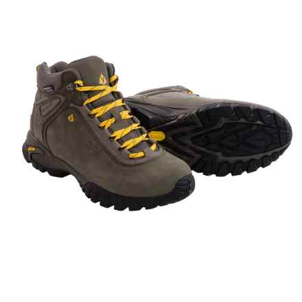 Vasque Talus Ultradry Hiking Boots (For Men) in Beluga/Old Gold - Closeouts