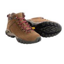 Vasque Talus Ultradry Hiking Boots - Waterproof (For Women) in Dark Earth/Rumba Red - Closeouts