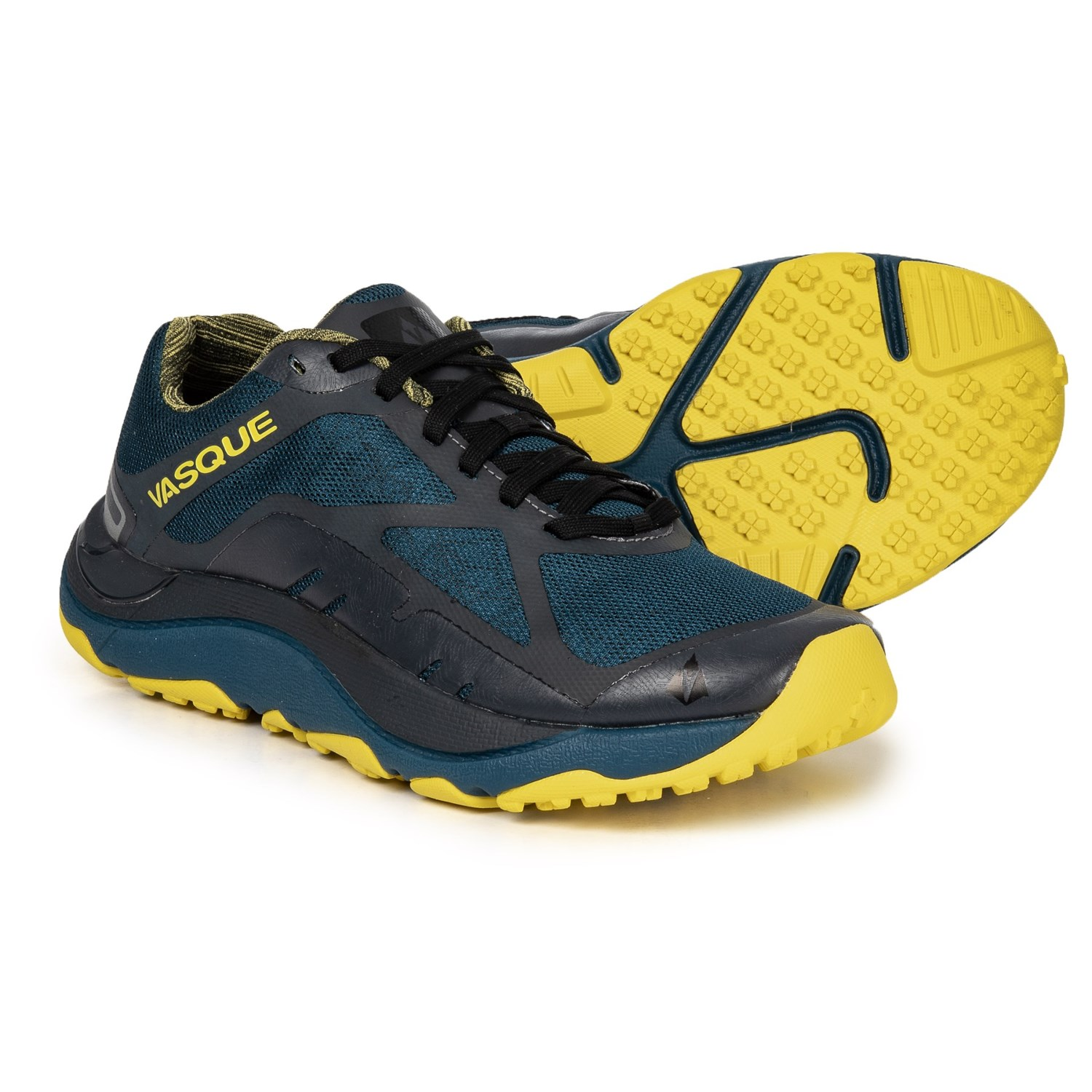7366ccc7ebc94 Vasque Trailbender II Trail Running Shoes (For Men) in Shaded Spruce Green  Sheen