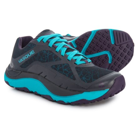 7c161a0047b36 Vasque Trailbender II Trail Running Shoes (For Women) in Ebony Bluebird -  Closeouts