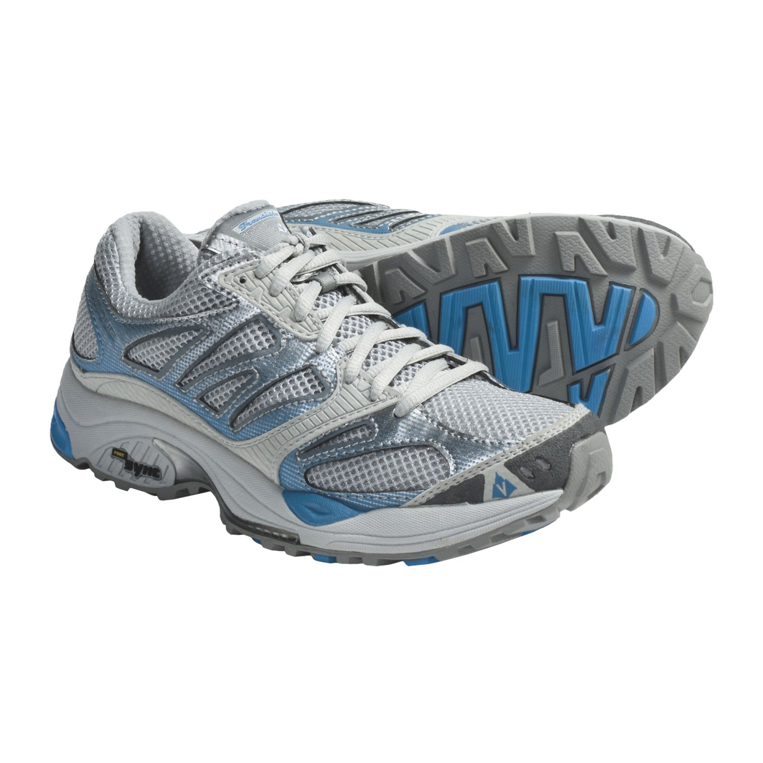 Vasque Transistor FS Trail Running Shoes (For Women) in Glacier Grey