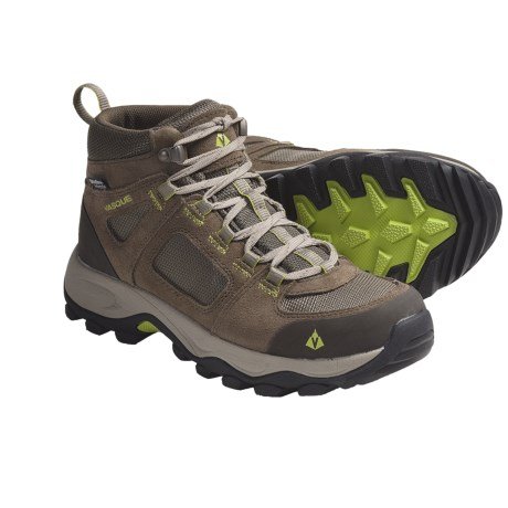Vasque Vector Hiking Boots - Waterproof (For Women) in Bungee Cord/Chartreuse