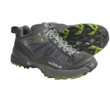Vasque Velocity Gore-Tex® XCR® Trail Shoes - Waterproof (For Women) in Gunmetal/Herbal Green - Closeouts