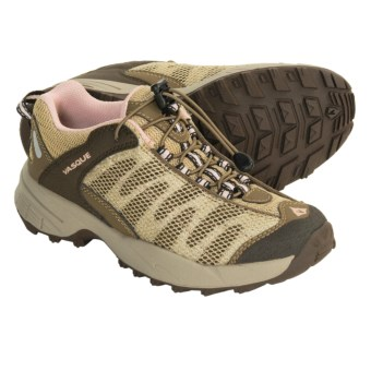 Vasque Velocity II VST Trail Running Shoes (For Kids) in Chocolate Chip/English Rose