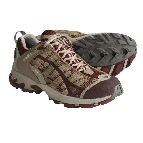 Vasque Velocity VST Gore-Tex® Trail Running Shoes - Waterproof (For Women) in Andorra/Fossil