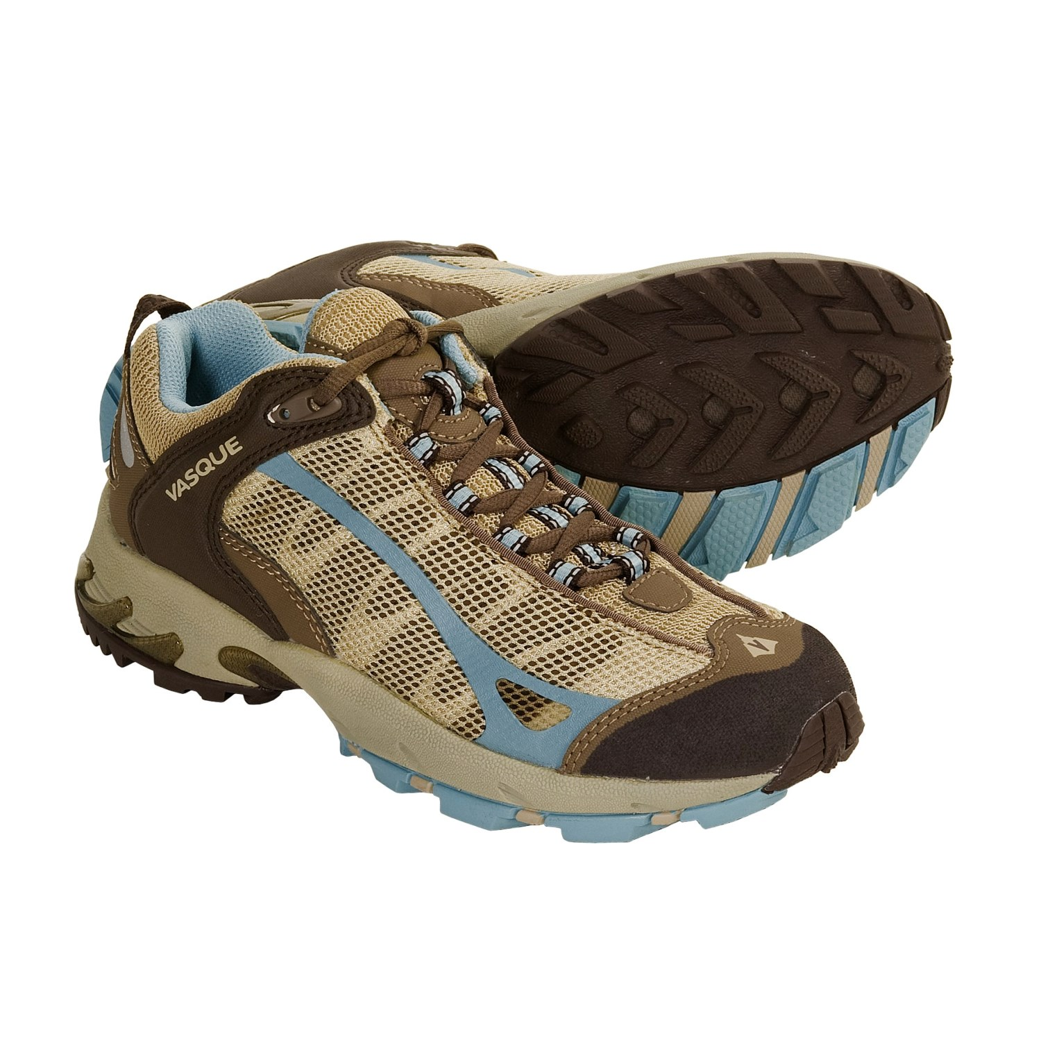 Vasque Velocity VST Trail Running Shoes (For Women) in Chocolate Chip