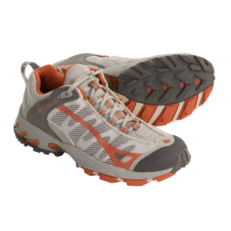 Vasque Velocity VST Trail Running Shoes (For Women) in Chocolate Chip/Pale Khaki