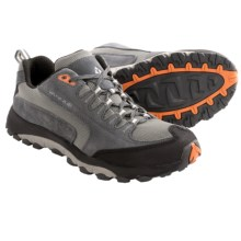 Vasque Venturist Trail Shoes - Suede (For Men) in Castlerock/Russet Orange - Closeouts