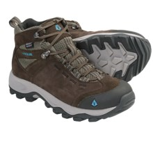Vasque Vista Hiking Boots - Waterproof (For Women) in Canteen/Scuba Blue - Closeouts
