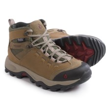 Vasque Vista UltraDry Hiking Boots - Waterproof, Leather (For Women) in Brindle/Rumba Red - Closeouts
