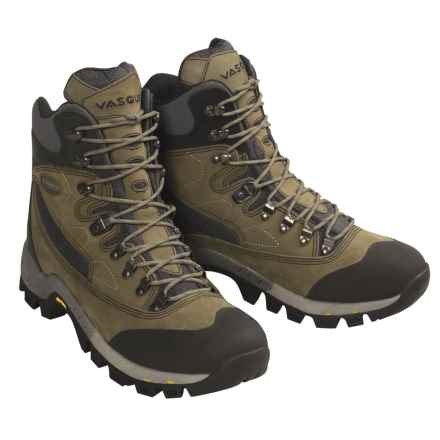 Vasque Zephyr Backpacking Boots (For Men) in Olive / Dark Olive / Grey / Dark Grey - Closeouts