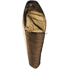 Vaude 33°F Blue Beech 600 Sleeping Bag - Synthetic, Mummy in Coffee - Closeouts