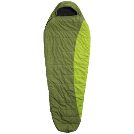 Vaude 33°F Blue Beech 600 Sleeping Bag - Synthetic, Mummy in Green - Closeouts