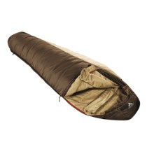 Vaude 37°F Blue Beech 450 Sleeping Bag - Synthetic, Mummy in Coffee - Closeouts