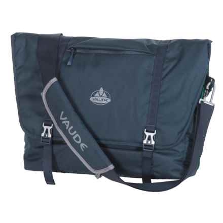 Vaude Arik Messenger Bag - Large in Marine - Closeouts