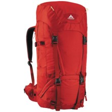 Vaude Astra 55+10 I Backpack - Internal Frame in Red - Closeouts