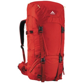 Vaude Astra 55+10 I Backpack - Internal Frame in Red