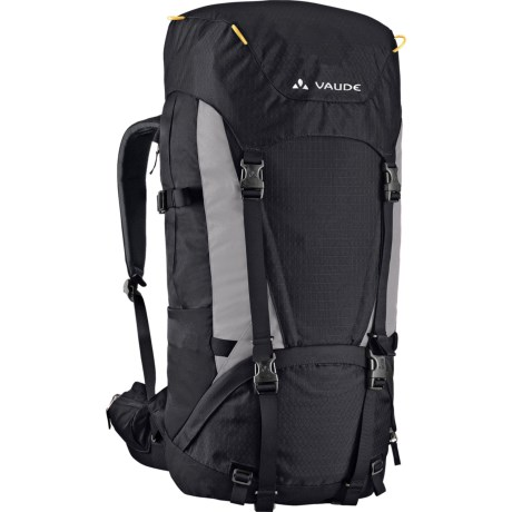 Vaude Astra 65+10 III Backpack - Internal Frame in Black/Pebble