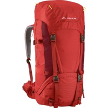 Vaude Astra II Backpack - 55+10 in Red/Salsa - Closeouts