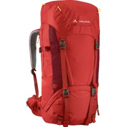 Vaude Astra II Backpack - 55+10 in Black/Pebbles