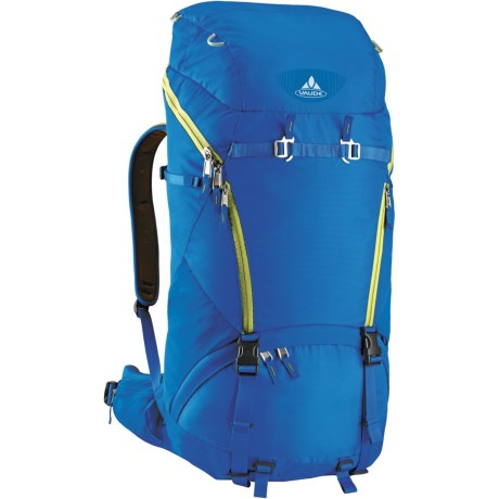 Vaude Astra Light 40 Backpack - Internal Frame in Blue/Green