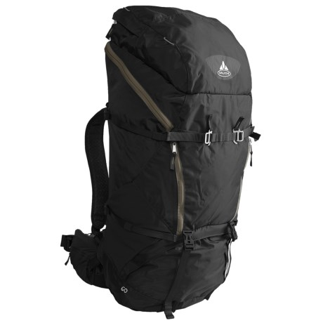 Vaude Astra Light 60 Backpack - Internal Frame in Black