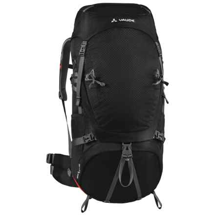 Vaude Astrum 60+10 Backpack in Black - Closeouts
