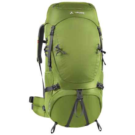 Vaude Astrum 60+10 Backpack in Holly Green - Closeouts