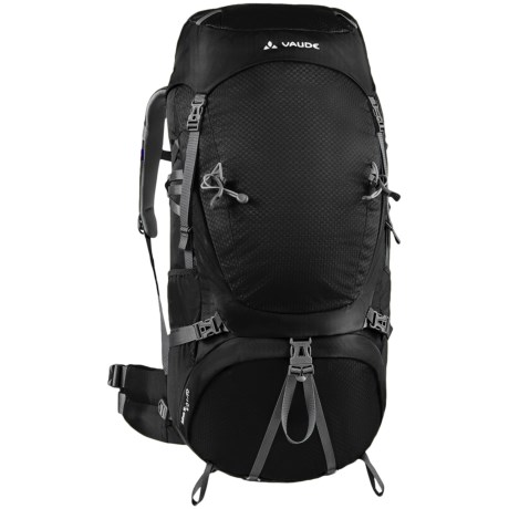 Vaude Astrum 70+10 Backpack - Internal Frame in Black