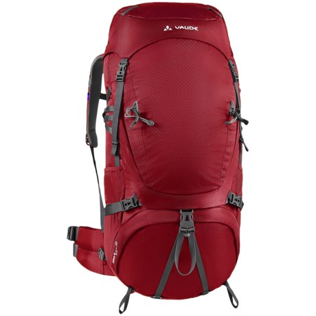 Vaude Astrum 70+10 Backpack - Internal Frame in Dark Red