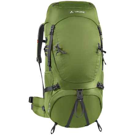Vaude Astrum 70+10 Backpack - Internal Frame in Holly Green - Closeouts