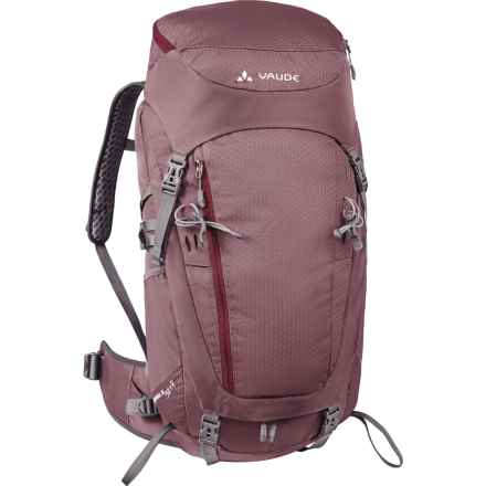 Vaude Asymmetric 38+8 Backpack - Internal Frame (For Women) in Erica - Closeouts