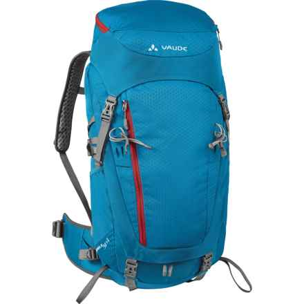 Vaude Asymmetric 38+8 Backpack - Internal Frame (For Women) in Teal Blue - Closeouts