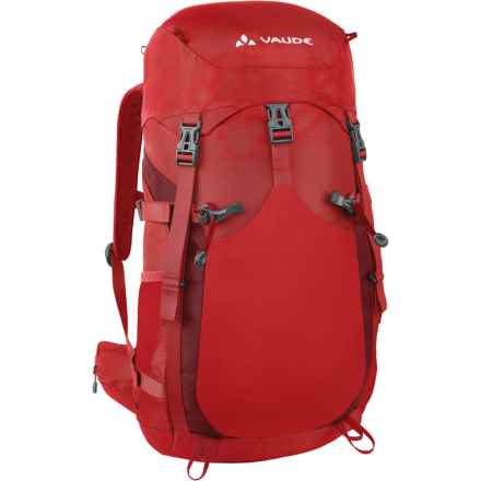 Vaude Brenta 30 Backpack - Internal Frame in Red - Closeouts